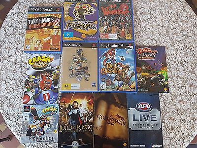 PS2 Case And Manual Bundle