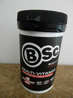 BSC Multi-Vitamin with Executive Stress Formula, One a Day, 60 Tablets, New