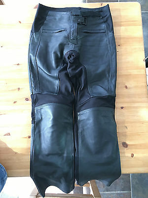 Ladies Triumph Kate Leather Motorcycle Trousers