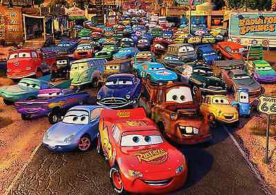 Unofficial CARS (1) *Glossy A4 print Poster - Disney Pixar