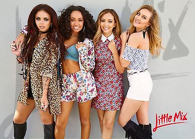 Unofficial LITTLE MIX (1) *Glossy A4 print Poster - One Direction Taylor Sheeran