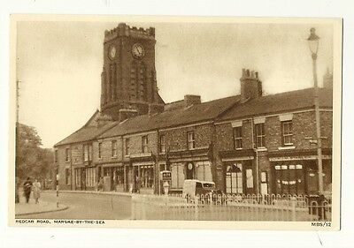 Marske-by-the-Sea - a printed photographic postcard of Redcar Road