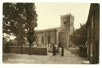 Stokesley - a photographic postcard of the Parish Church