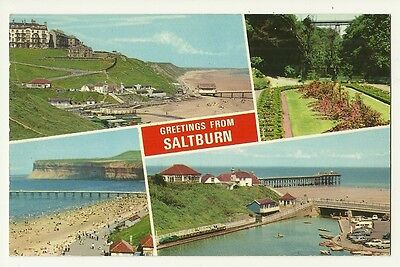 Saltburn-by-the-Sea - a photographic multiview postcard