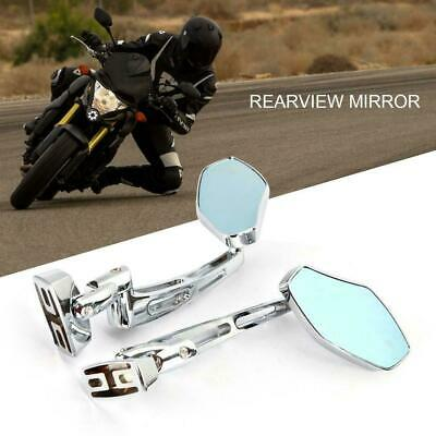 CNC Chrome Racing Rearview Mirrors For Yamaha FZR YZF 600 600R R1 R6