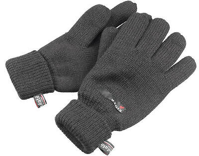 Eiger Knitted Gloves (medium) soft and comfortable, with 3M Thinsulate lining