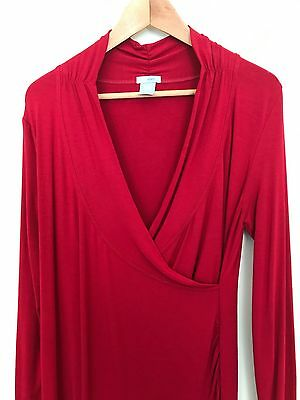 Gap Stretch - Maternity Dress Red Size M (12-14)