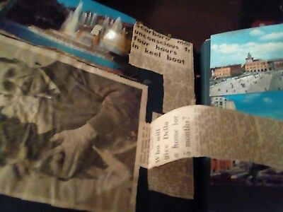 Scarborough  York 1950s scrapbook postcards photos newspapers  cards and more