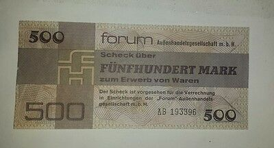 DDR Forumscheck 500 Mark 1979  (AB 193396)