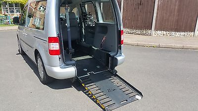 2010 (59) Volkswagen Caddy Life 1.9 Tdi Sirus Wheelchair Access Disabled Drive