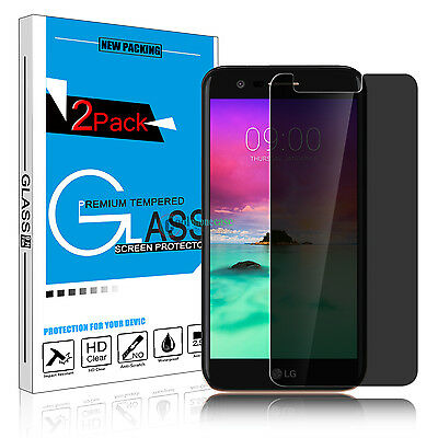 Privacy Anti-Spy Peeping 9H Tempered Glass Screen Protector for LG Stylo 3 Plus