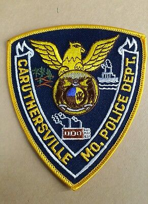 Caruthersville, Missouri Police Shoulder Patch Mo