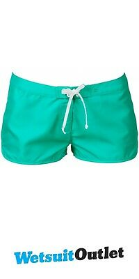 "2016 Billabong Ladies Cacy 19"" Boardshorts in Jade W3BS01"