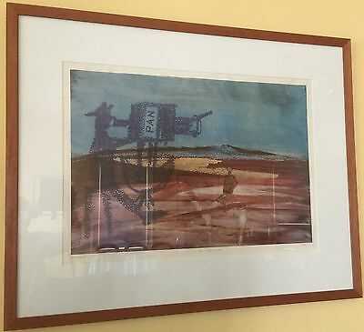 Sidney Nolan Screenprint, 'The Pitiless Wastes', A/P