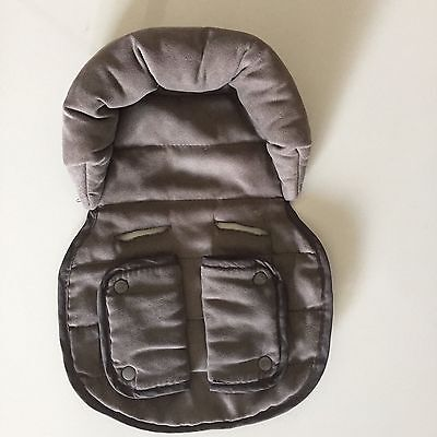 LINER HEAD SUPPORT INSERT For Steelcraft Capsule Stroller BROWN STRIDER PLUS