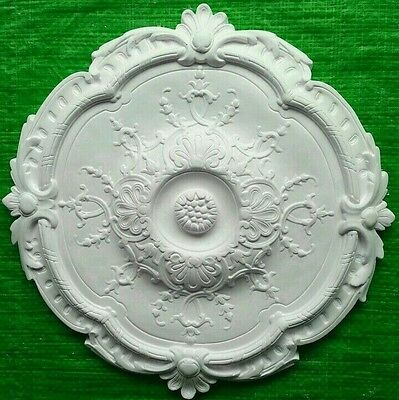 Plaster Ceiling Rose Honeysuckle Design 395mm