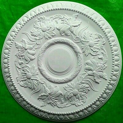 Plaster Ceiling Rose Egg And Dart Design 510mm