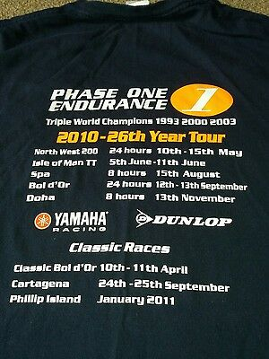 Biking Phase One Endurance 2010 T - Shirt - Size Large