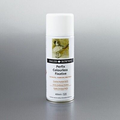 Daler-Rowney Perfix Colourless Fixative - 400ml Free Shipping