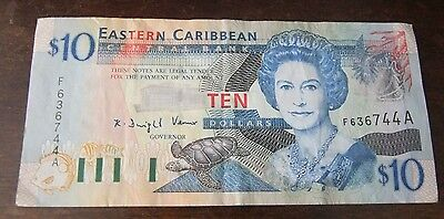 Central Bank Of Eastern Caribbean Note (F636744A)