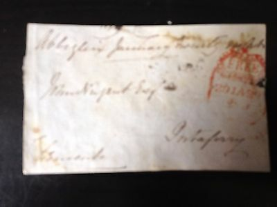 Free Front Dated - Abbeyglen To Portaferry - Signed Clements ?
