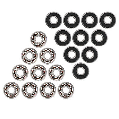 10pcs 608 Steel Ball Inline Bearing for Finger Spinner Skateboard Drift Plate