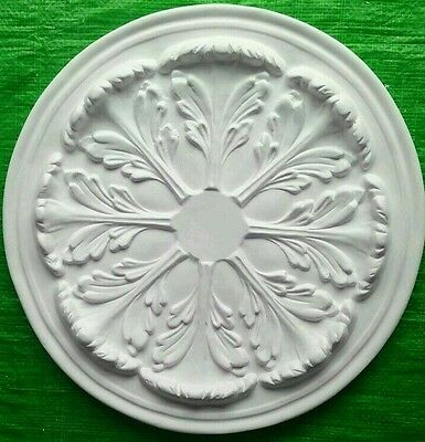 Plaster Ceiling Rose Large Acanthus Design 525mm
