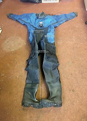 ROHO MEMBRANE DRY SUIT / DRYSUIT / DIVING SUIT As NEW RRP £700 + Rrp