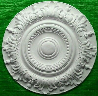 Plaster Ceiling Rose Victorian Design 500mm