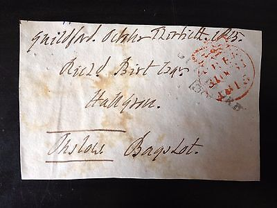 Free Front Dated 1815 - Guildford To Bagshot - Signed Onslow