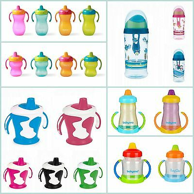 New! Kids NON SPILL Cup, Toddler Cups Drinking Cup, Many Colours & Designs