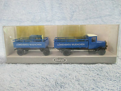 """Ho/oo Scale German """"man"""" Truck And Trailer"""
