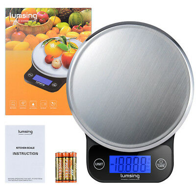 Lumsing Digital LCD Kitchen Scale Food Diet Postal Weight Balance New 13.2lb/6kg