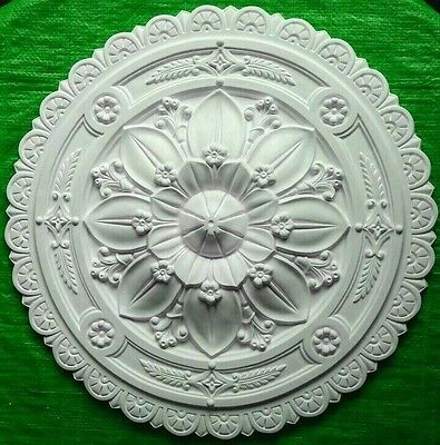 Plaster Ceiling Rose Large Flower Design 610mm