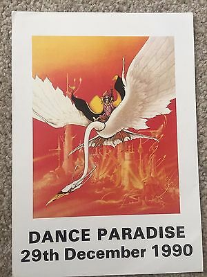 Dance Paradise Gt Yarmouth 1990 Rave Flyers Flyer