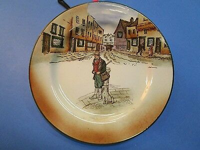 """ROYAL DOULTON """"Bill Sykes"""" DICKENS SERIES WARE ROUND PLATE"""