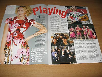 LISA McCUNE - 2 page magazine clipping 2017