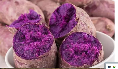 100 pcs Purple Sweet Potato seeds,Delicious Green Vegetable Seeds