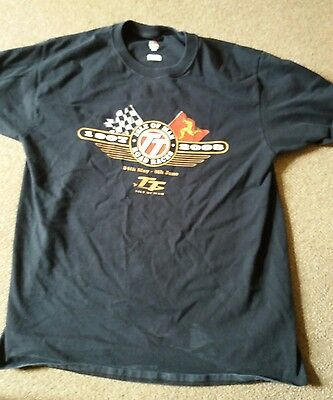Isle Of Man Tt 2008 T - Shirt-  Size Large