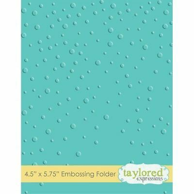 Taylored Expressions Embossing Folder - Snowfall - TEEF09