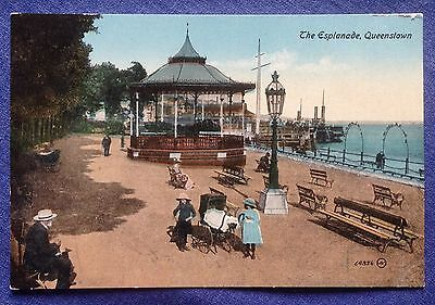 Vintage Postcard. The Esplanade,  Queenstown.   (APCA)