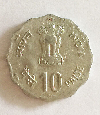 COIN -  Coin From India Ten Paisa (Ten Penny)  Coin