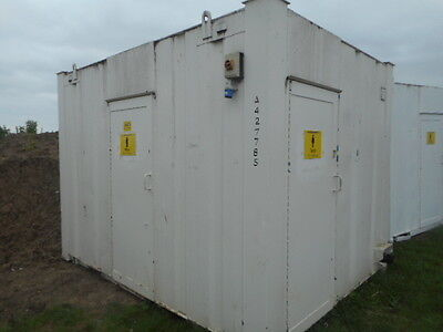 12' x 9' anti vandal 2 + 1 toilet site welfare urinal loo