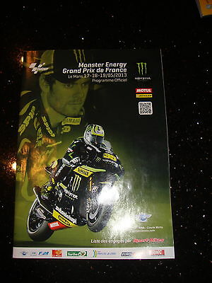 Official Moto Gp Programme - French 2013 - Inc Salom - Signed (4)