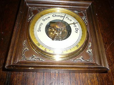 wall hanging vintage barometer made in germany