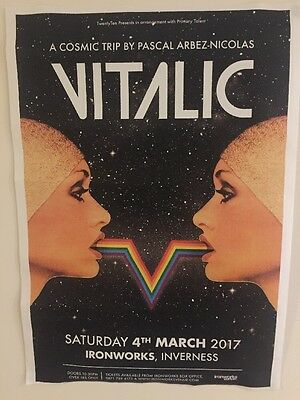 Vitalic - Concert / Gig poster - Inverness, March 2017 (voyager)