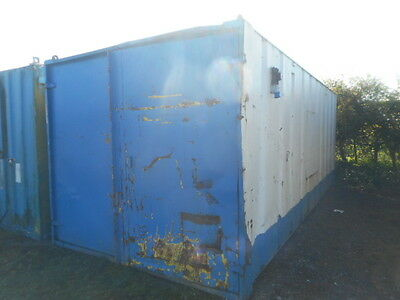 21' x 9' anti vandal store site shipping container portable building tool