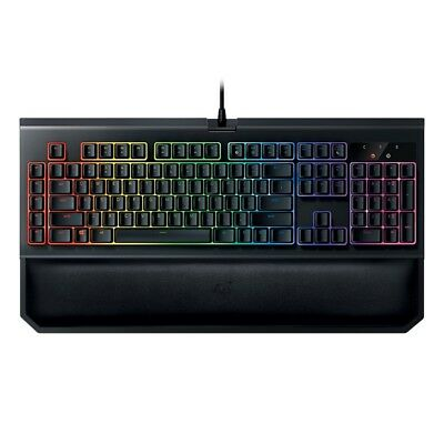 Razer BlackWidow Chroma V2 Mechanical Gaming Keyboard Yellow Switch US Layout TS