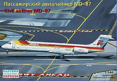 Eastern Express 1/144  Airliner MD-87 Iberia Airlines EE144110