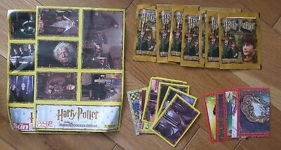 Panini - Harry Potter & The Philosopher's Stone -x7 Sealed Sticker Packs + Loose